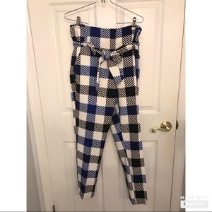 New York & co. Maddie Pant Checkered Style Size 12